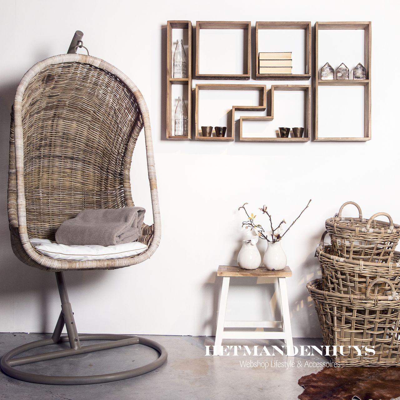 Hangstoel Van Touw.Rieten Hangstoel Voor Aan Plafond