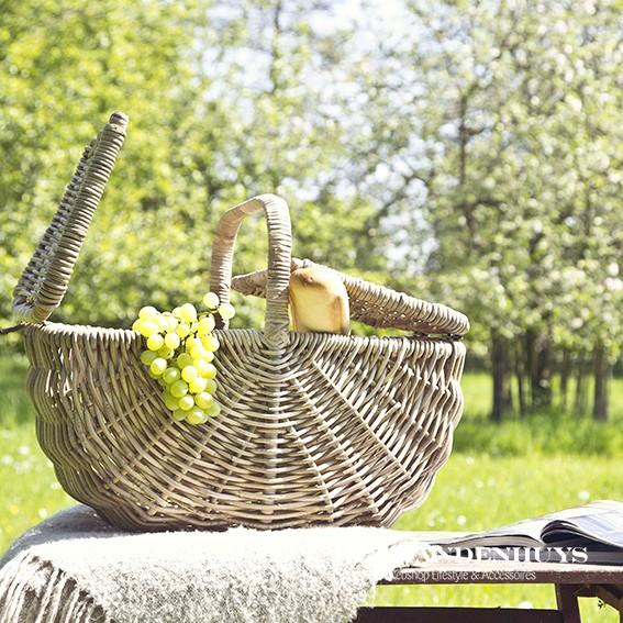 rotan picknickmand