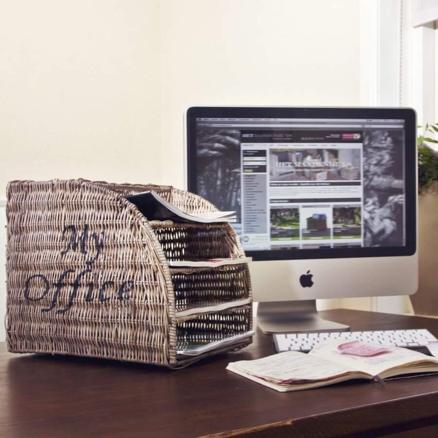 Papieropberger 'My Office'.