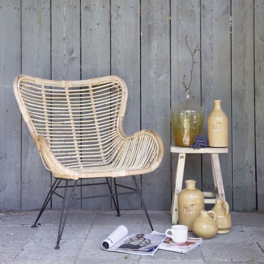 Egg chair 'Rattan'