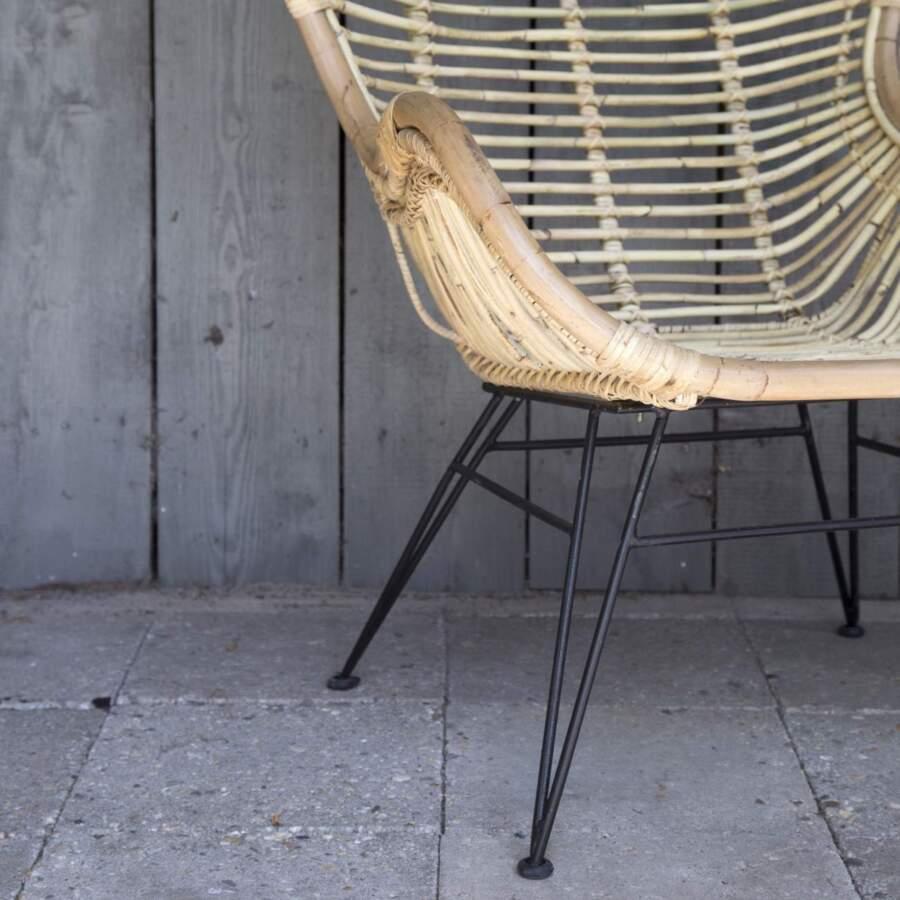 Vlinderstoel 'Rattan'