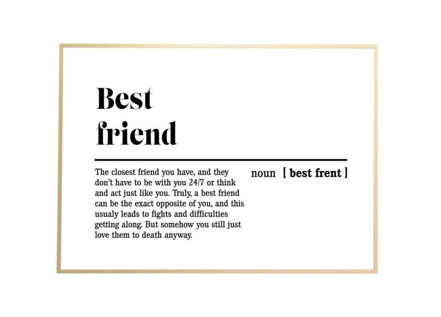 friend gold