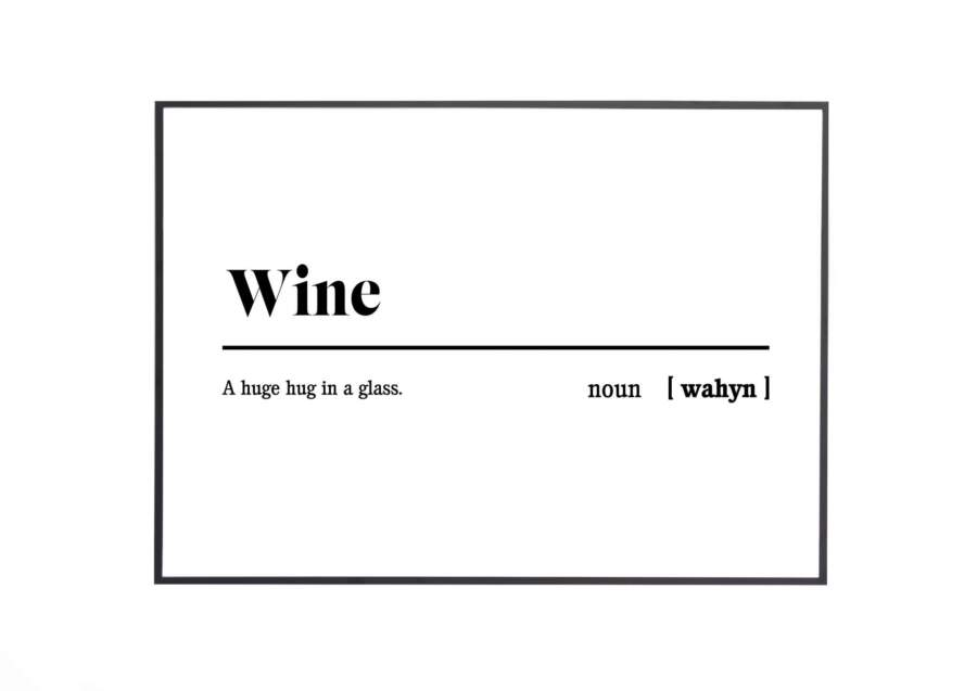 wine black