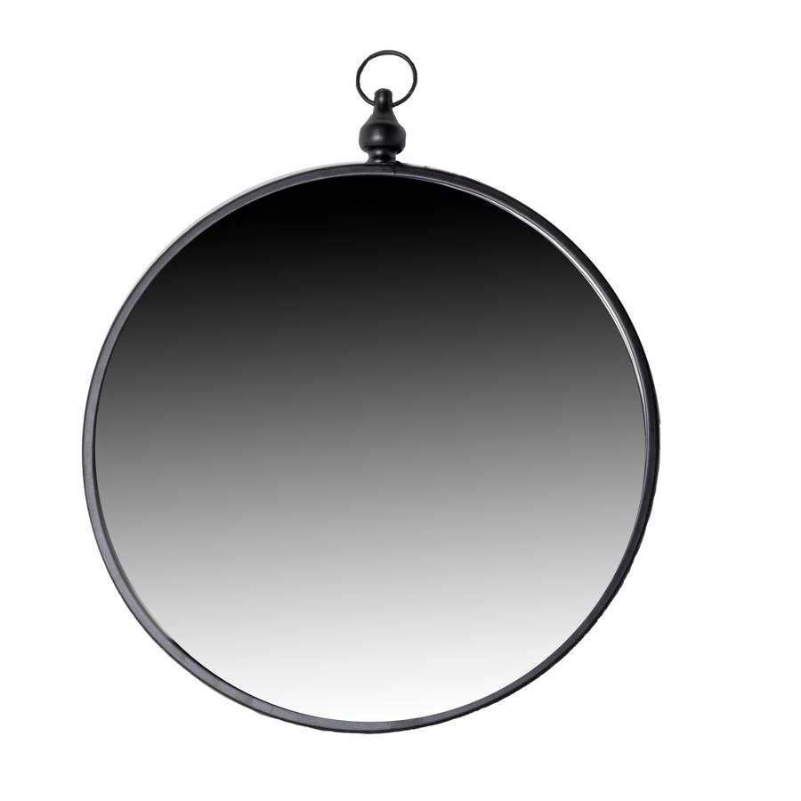 Eton_Mirror_Round_Black_119955_voor
